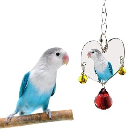 AIHOME Pájaros Juguete Papagayo Campana Juguete balancín Muti en ...