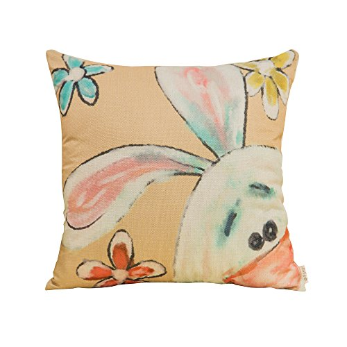 Fjfz Cotton Linen Home Decorative Throw Pillow Case Cushion