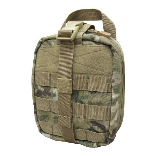 51Czh3AluvL. SS500  - Condor Army Military EMT Medical First Aid Kit Pouch MOLLE System MultiCam Camo