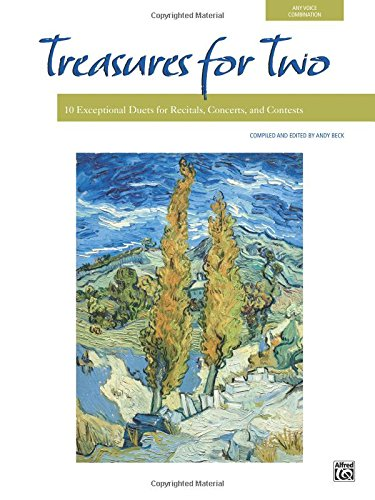 Treasures for Two: 10 Exceptional Duets for Recitals, Concerts, and Contests (For Two Series)