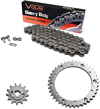 Caltric Red O-Ring Drive Chain /& Sprockets Kit for Yamaha Blaster 200 Yfs200 Yfs-200 1988-2006