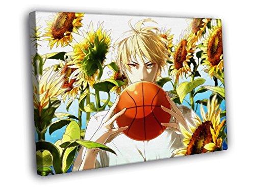 H5V6219 Kuroko No Basuke Kise Ryouta Kuroko's Basketball Anime Manga Art 50x40 FRAMED CANVAS PRINT