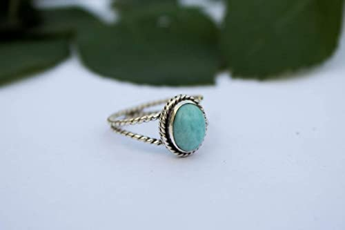 925 Sterling Silver Blue Stone Gift for him Boho Ring Beautiful Turquoise Ring Anniversary Gift Free Shipping. Valentine/'s Gift
