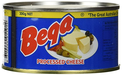 Bega Canned Autralian Processed Cheese 1 can of 200g Net