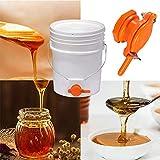 Cisture Honey Gate Valve for Bucket, Durable