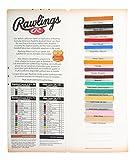 Rawlings Bulk Glove Lace Sample Card