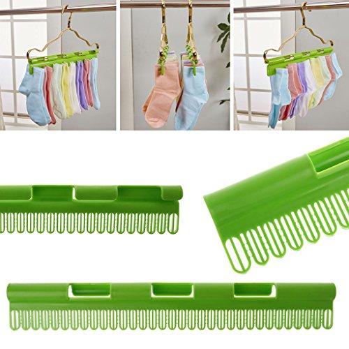 Dabixx Chaussettes Vêtements Serviette Rack Clamp Plastique Hanger De Windproof Skid Anti Clips Stockage xFSxwqr