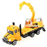 uhaul toy truck - Mini Truck Toy - 1 Piece Mini Alloy Construction Vehicle Engineering Car Excavator Truck Model Children Educational Diecast Vehicles for Boys Gift