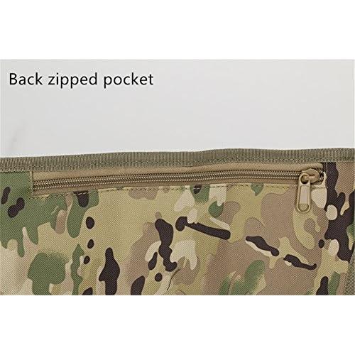 Spohife Bum Sac banane tactique militaire Ceinture abdominale Lot Sac étui étanche pour l'extérieur Course à Pied Marche Trekking