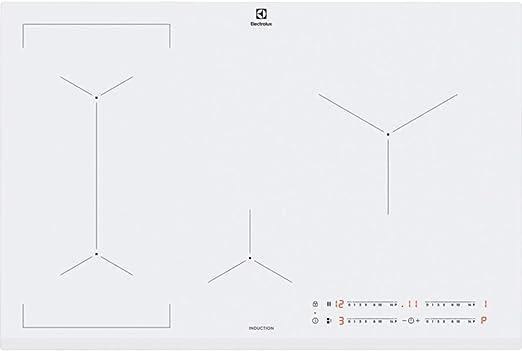 Opinión sobre Electrolux EIV83443BW hobs Blanco Integrado Con - Placa (Blanco, Integrado, Con placa de inducción, Vidrio y cerámica, 2500 W, Alrededor)