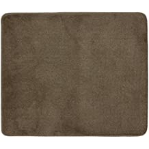 Stair Tread Collection Indoor Skid Slip Resistant Carpet Stair Mat Machine Washable Euro Collection (30 Inch x 36 Inch Matching Mat, Cappuccino Brown)