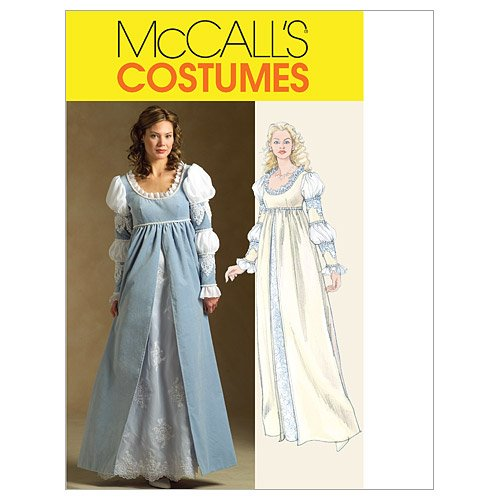 Mccalls Renaissance Costume Patterns (McCall's Patterns M5444 Misses' Renaissance Costume, Size EE (14-16-18-20))