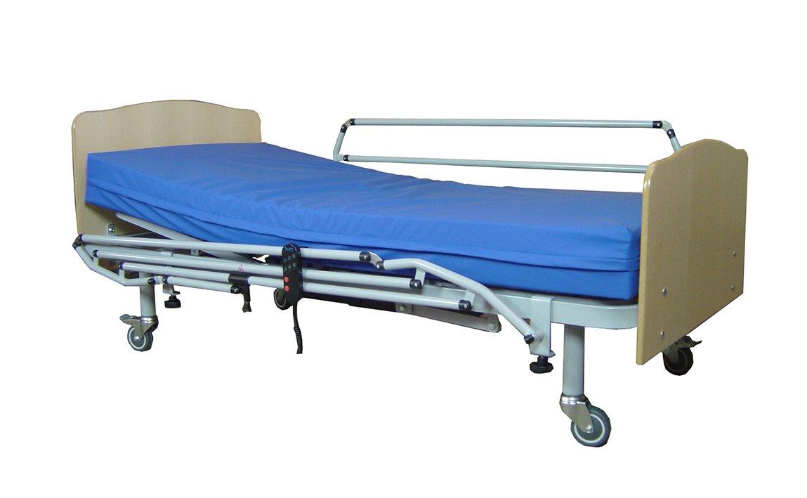 SERMAHOME Juego de 2 Unidades de barandilla de Seguridad para Cama articulada hospitalaria.