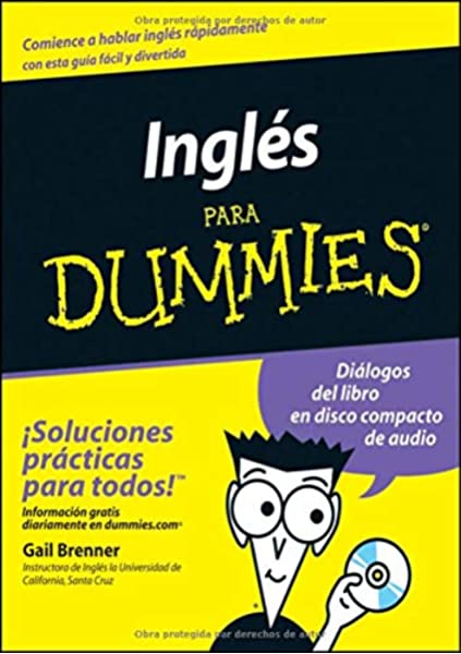 Amazon.com: Inglés Para Dummies (Spanish Edition) (9780764554278): Brenner,  Gail: Books