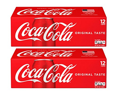 Coca Cola Classic, 12-Ounce Cans (Pack of 24) ()