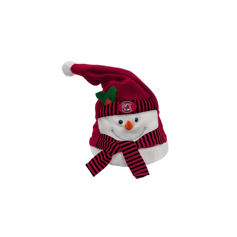 NCAA South Carolina Gamecocks Animated Musical Christmas Snowman Hat