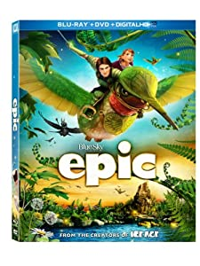 Cover Image for 'Epic (Blu-ray / DVD + Digital Copy)'