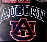 Stockdale Auburn Tigers 12 in Cornhole Decals - Free Circles