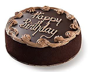 Cake Images With Name Rashi : David s Cookies Chocolate Fudge Birthday Cake, 7?: Amazon ...