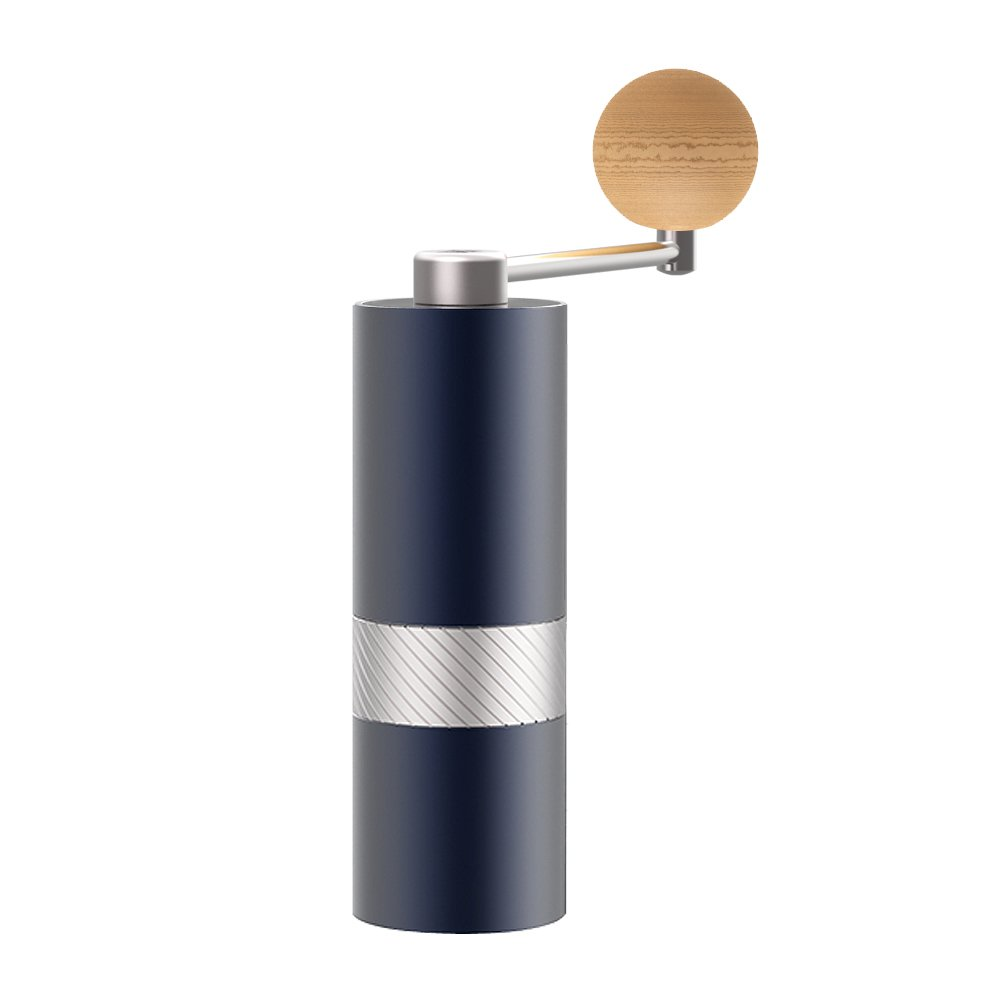 Manual Burr Coffee Grinder with Stainless Steel Conical Burr, Consistency Grinding, Mini by 1Zgrinder