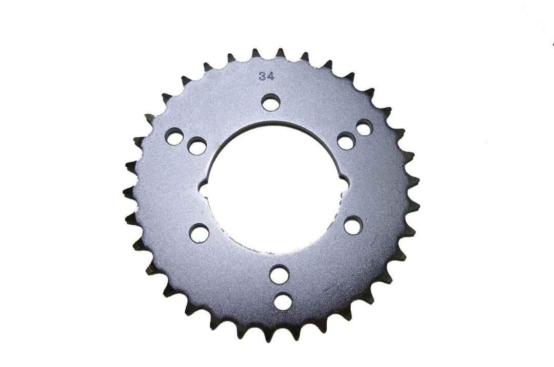 Polaris 2x4 Steel Rear Sprocket 250 / 300 / 325 / 330 / 350 / 400 / 425 / 500 34 Teeth ATV / Motorcycle WSM RSP-001-34 OEM# 3222050, 3222068 models in description
