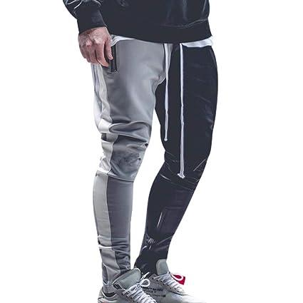 ღLILICATღ Hombre Pantalones chandals Jogger Deportivos Urbano ...