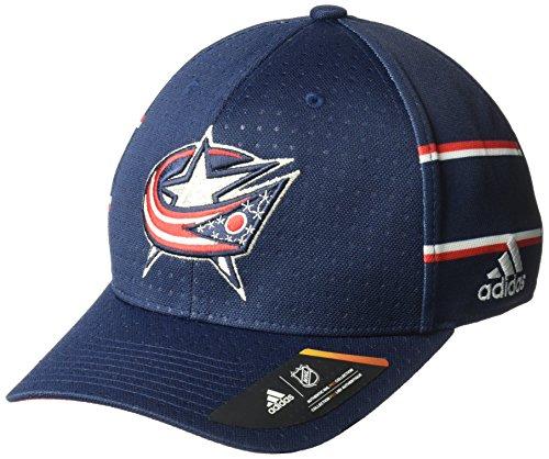 NHL Columbus Blue Jackets Men's Pro Collection Draft Cap, Small/Medium, Navy