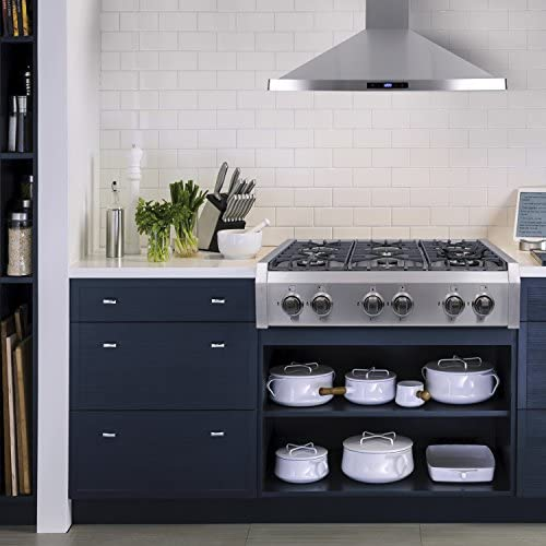 Amazon.com: Cocina Cosmo estilo profesional, a fas, de acero ...