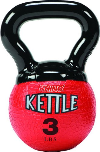 Champion Sports Kettle Bell Weights, 3-Pound by Champion Sports