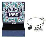 21st Birthday Gifts for Her Made 1996 Charm Bracelet Jewelry Box
