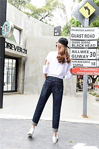 Icegrey Blu Jeans Jeans Icegrey Donna Navy IFW8w8qd