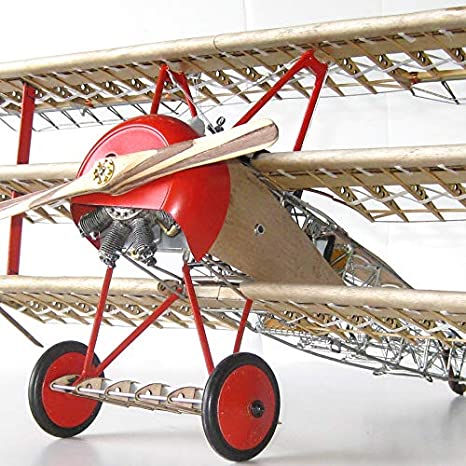 Model Expo Model Airways Dr 1 Fokker Tri Plane Wood 1 16 By Spielzeug