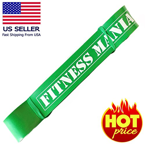 FITNESS MANIAC Heavy Duty Resistance Bands 1.8 Inches Thickn