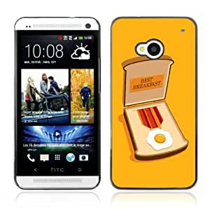 Designer Depo Hard Protection Case for HTC One M7 / Bacon Medal