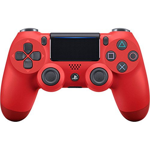 DualShock 4 Wireless Controller for PlayStation 4 - Magma Red (Red Sony Camera)