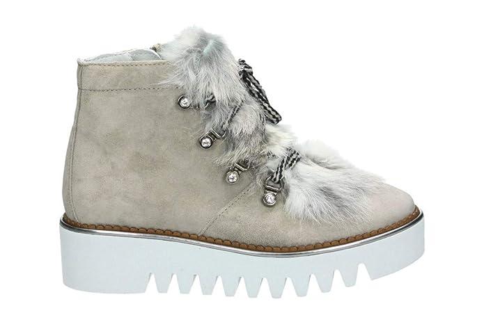 Alpe Woman Shoes Damen Stiefeletten 3610 11 46 grau 532793