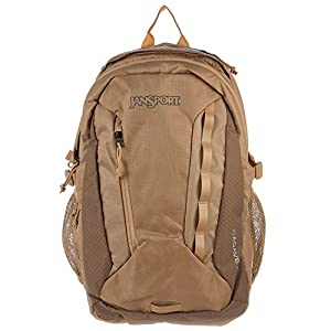 JanSport Agave Laptop Backpack (Bozeman Brown / Field Tan)