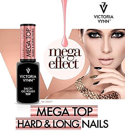 Victoria Vynn Mega parte superior duro & uñas largas