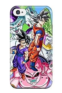 Jose de la Barra's Shop Excellent Design Dbz Goku Case Cover For Iphone 4/4s