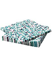 Tacksamhet Paper Napkin Patterned Multicolour Pack Of 30