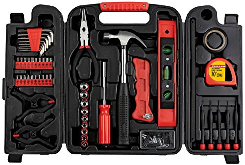 Fuller Tool 997-0132 Homeowners Repair Tool kit, 134 Piece