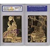 KOBE BRYANT 1996-97 Fleer ROOKIE Signature 23KT Gold Card Sculptured GEM MINT 10