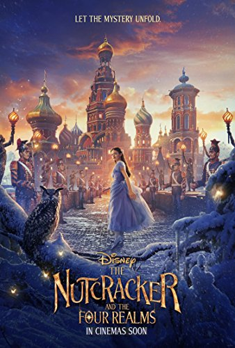 The Nutcracker and The Four Realms MOVIE POSTER 2 Sided 27x40