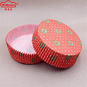 Restonc Big Paper Baking Cupcake Cups Liners with Christmas (5000, Tree)