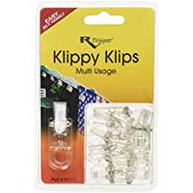 RV Designer M111, Klippy Klip, Multi Purpose Clips, Awning Hanger, 10 Per Pack
