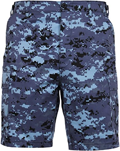 (Tactical BDU Shorts Military Camo Cargo Shorts Army Fatigues Camouflage Uniform)