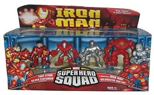 (Iron Man Movie Toy Super Hero Squad Battle Pack Hall of Armor)