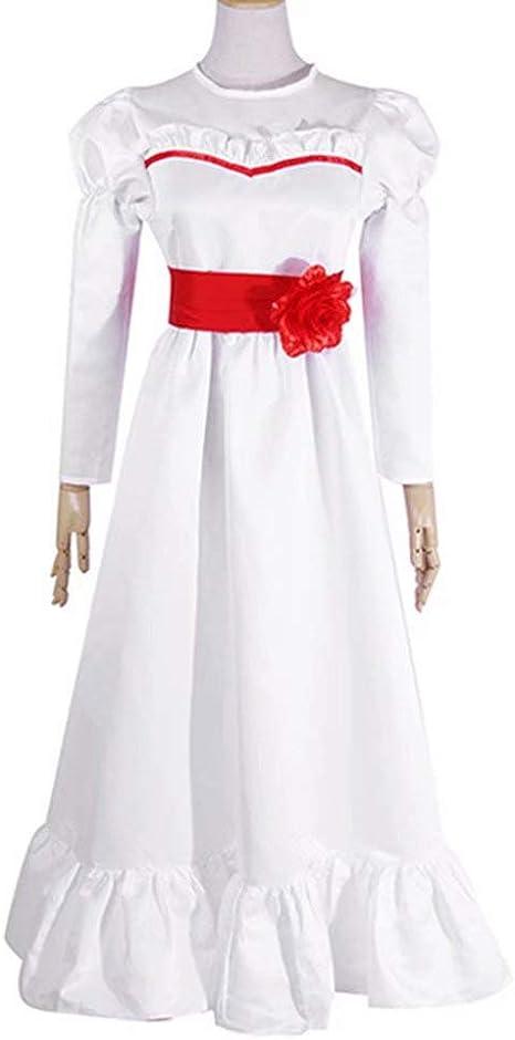 Annabell Disfraz Mujer Annabell Doll Cosplay Disfraz Horror Scary ...