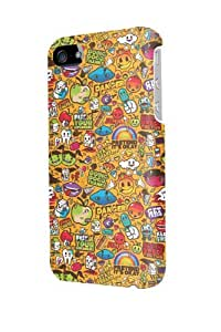 ip50046 Cute cartoon Glossy Case Cover For Iphone 5/5S by mcsharks