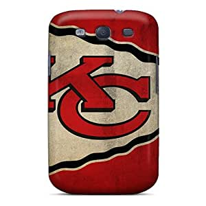 EOV Scratch-free Phone Case For Galaxy S3- Retail Packaging - Kansas City Chiefs